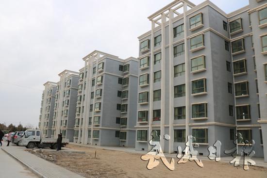 武威古浪县绿洲生态移民小镇稳步建设(图)