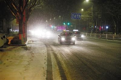 春雪金城夜飞花 甘肃省迎来入冬以来最强降雪