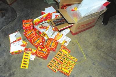 兰州警方查获大量假冒南孚电池