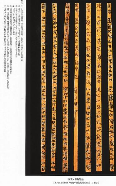 【甘肃历史文化】武威汉代医简中国医籍链上重要一环(图)
