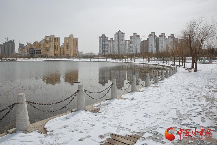 陇拍客丨定西:春雪消融 画在水中游(组图)