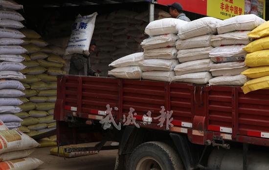 武威武威市农资市场开始活跃(图)