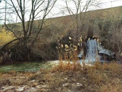 水源地保护区内排污管口若悬河 兰州西固区环保局:属达标排放