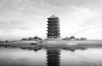 兰州黄河楼项目6月底前完成主楼基础施工