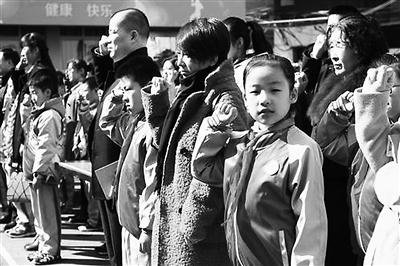 兰州:开学第一课家长学生共同宣誓做文明人