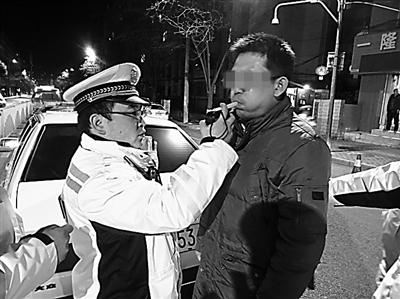 无缝隙排查 兰州一夜7名涉酒司机被查处(图)