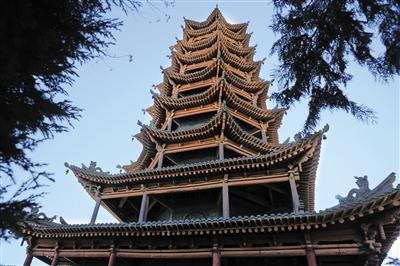西部地理丨张掖五行塔:佛国胜境中的塔影奥秘(图)