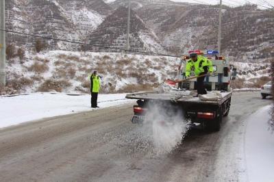受降雪以及周边道路结冰和交通管制影响——昨日兰州南站西站长途班车全线停运