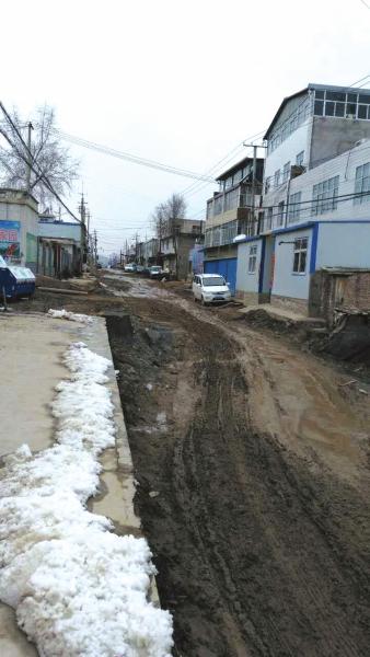 兰州深湖公路至龚家坪西路备战路修整工程一再搁置 市政管理处:4月1日复工