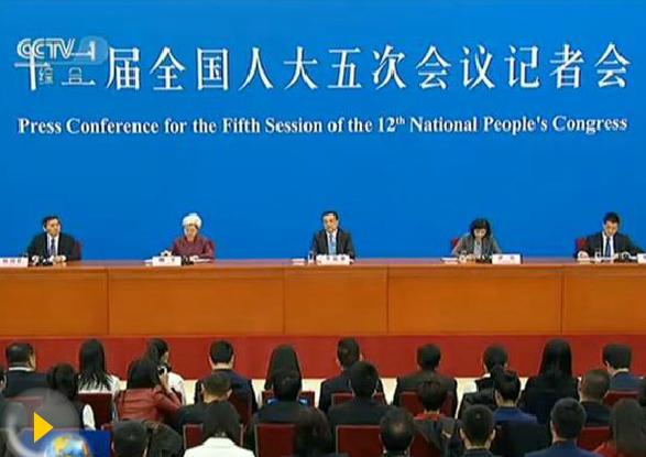 李克强总理会见中外记者并回答提问