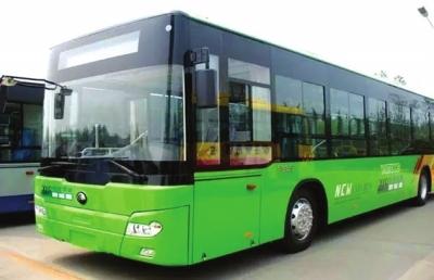 白银景泰30辆纯电动公交车投入运行(图)