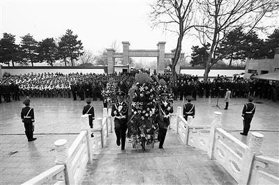 庆阳正宁举行杨军刚、巨涛纪念碑揭牌仪式(图)