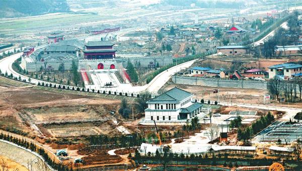 庆阳北石窟寺文化生态旅游区项目将于6月1日投入运营