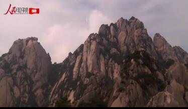 春景黄山:奇松怪石叠重花 峰峦随水入丹青