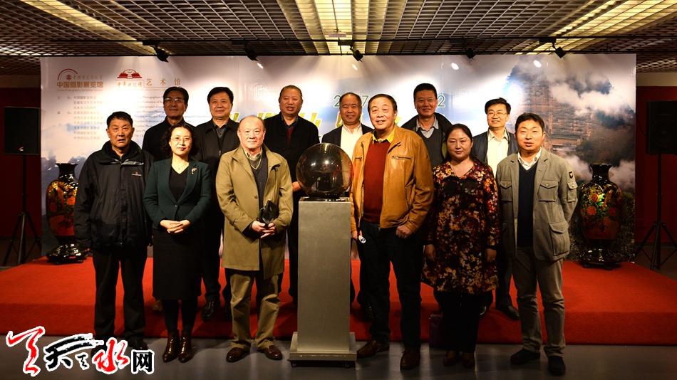 """""""影像丝绸之路——天水摄影双年展(主题展)北京巡回展""""在京开展(图)"""