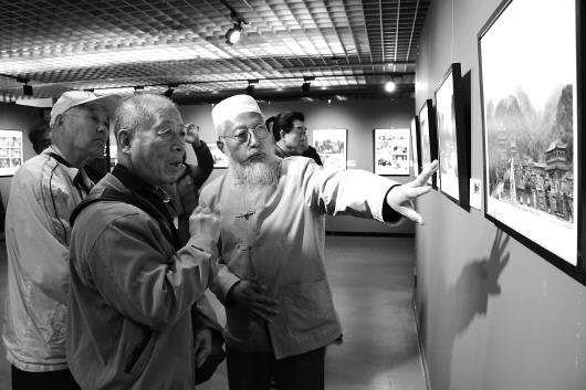 """""""影像丝绸之路——天水摄影双年展北京巡展""""开展"""