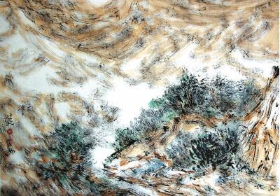 书画赏析|山河喟叹今有人——杜元的画(组图)