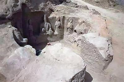 甘肃庆阳镇原县新发现北魏时期石窟寺遗址早于北石窟寺开凿年代