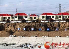 定西:巉口古镇项目建设如火如荼(图)