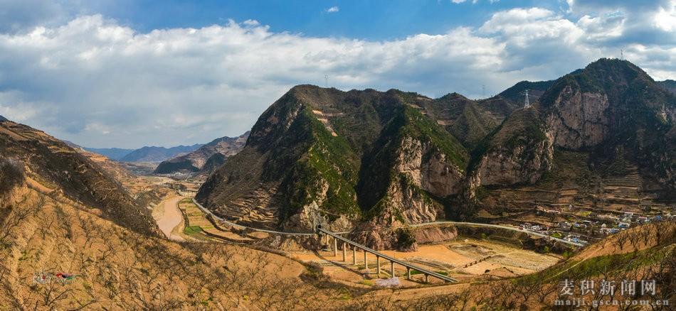 金沙娱乐直营网:天水醉美麦积:壮美的渭河峡谷(组图)