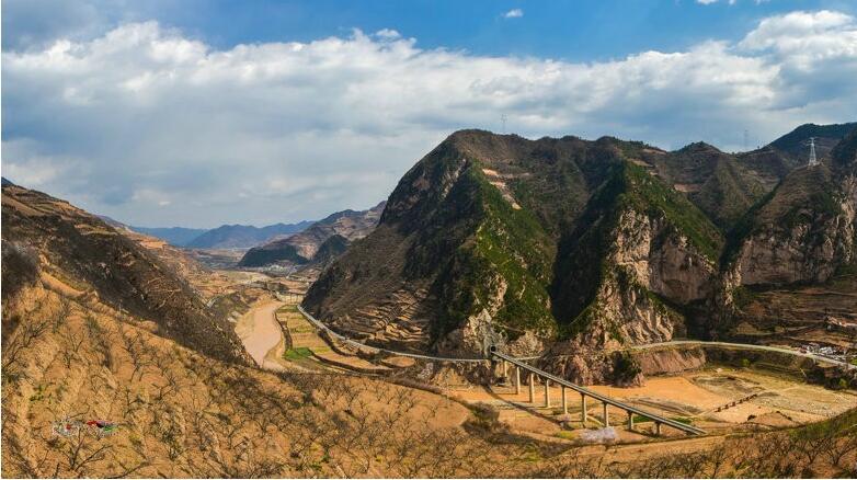 天水醉美麦积:壮美的渭河峡谷(组图)