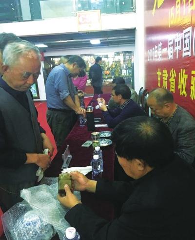 收藏爱好者的文化大餐 兰州古玩文化艺术节启幕(图)