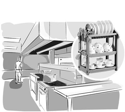 兰州城关区食药监局开展小型餐饮食品安全专项整治活动 5339家小餐企实现明厨亮灶餐具消毒