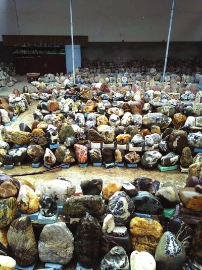 """二十年收集4万多块石头 天水甘谷农民自办""""天水渭河奇石博物馆"""""""