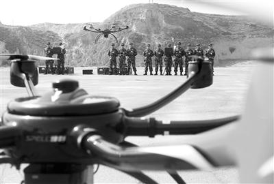 甘肃武警森林总队将投入多旋翼无人机用于火场侦查、定位和图像实时传输等领域