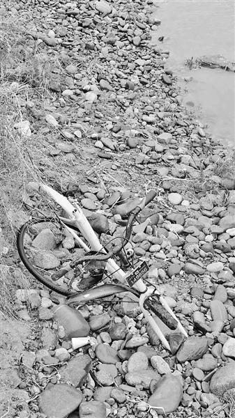 共享单车遭损丢弃 兰州市民吁请尽快收回(图)