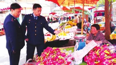 """""""鬼秤""""不见了消费更""""阳光"""" 兰州七里河区41个农贸市场实现规范管理"""
