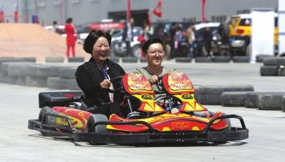 兰州市举办汽车运动嘉年华 2万平米的卡丁车场地8月迎客(图)