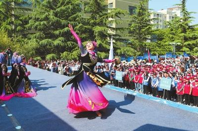中国旅游日公益宣传活动甘肃分会场启动仪式在西北师范大学举行