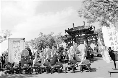 兰州安宁区水挂庄小学举行传统文化展示活动