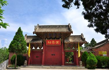 """陇南礼县:""""中国旅游日""""祁山武侯祠免费开放"""