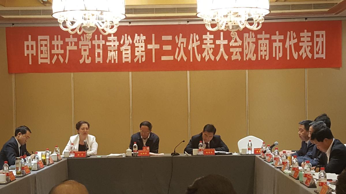 甘肃党代表:未来最关键是共享发展
