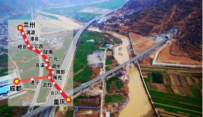 兰渝铁路轨道电路整治完成,陇南至重庆列车5月31日起恢复开行