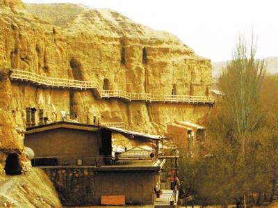 酒泉瓜州东千佛洞石窟旅游 6月1日起需要预约(图)