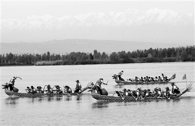 张掖高台大湖湾旅游文化艺术节开幕(图)
