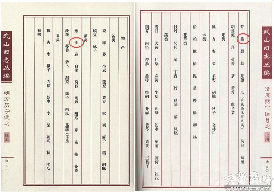 【蔬菜史话】中国韭菜之乡——天水武山(图)