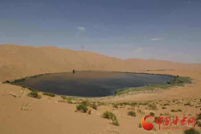 草原丝绸之路语言文化专家考察手记丨巴丹吉林沙漠,上帝画下的美丽曲线
