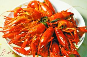 夏日当红美食:紫苏小龙虾