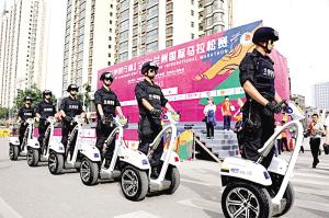 """兰州警方专题部署安保工作 为兰州国际马拉松赛""""保驾"""""""