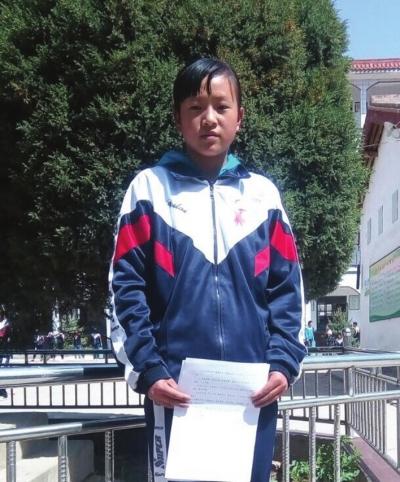 兰州美德少年葛苋:妈妈的好帮手老师的小助手(图)