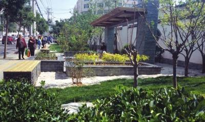 兰州安宁新建一批小游园做好城市发展绿文章(图)