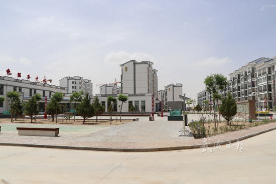 武威民勤县大滩镇大滩社区已完成主体工程(图)