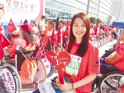 【兰州国际马拉松赛】杜艳洁:轮椅上的马拉松