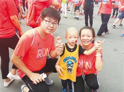 【兰州国际马拉松赛】记者体验:我们一家人的马拉松