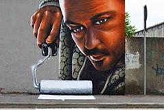 """""""呼之欲出""""的街头艺术"""