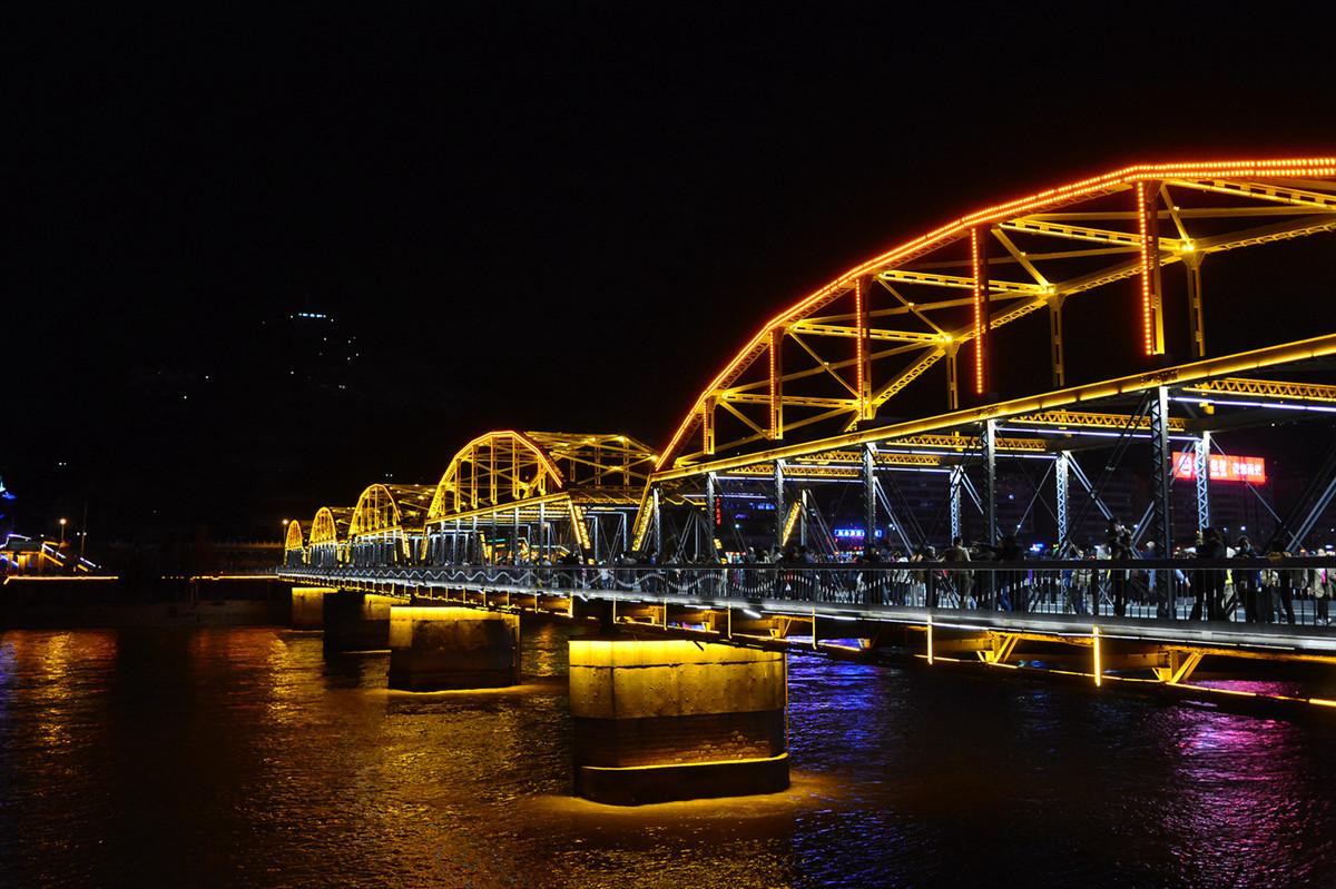 中山铁桥建设历程